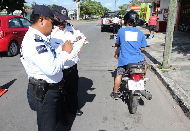 El robo de motos incrementó 238%, comparado con el mismo período de 2016. (Joel Zamora/SIPSE)