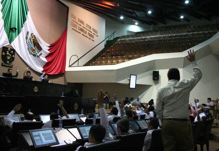 Diputados aprobaron por unanimidad las iniciativas. (SIPSE)