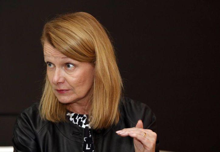 Lenita Toivakka, ministra de comercio finesa, dijo que su país está dispuesto a cooperar con México en pro de una mejor relación bilateral. (Notimex)