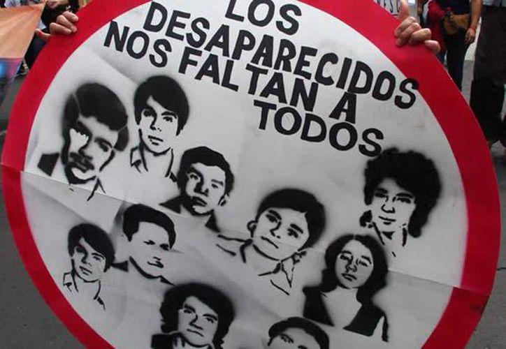 Amnistía Internacional señaló que las desapariciones forzadas con implicación del Estado y las perpetradas por agentes no estatales seguían siendo una práctica generalizada en México. (Archivo/Agencias)
