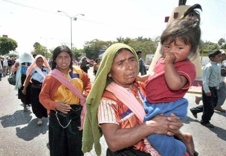 En comunidades rurales es donde se acentúan los índices de pobreza. Imagen de contexto. (Archivo/Notimex)