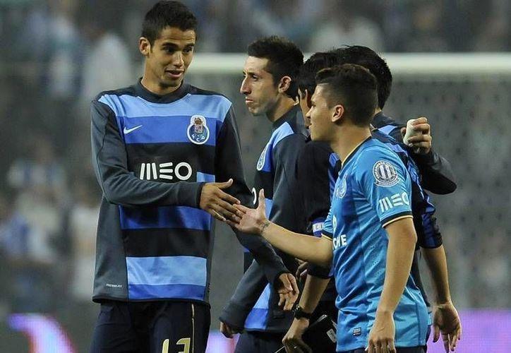 El defensa Diego Reyes, actualmente se encuentra en la Real Sociedad de San Sebastián disputando la Liga Española. (AP)
