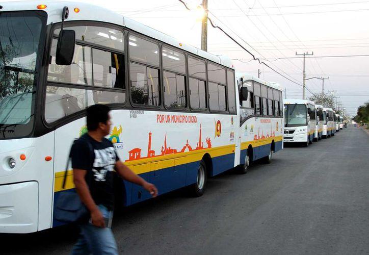 La ampliación se retomó porque en su momento existió un empresario interesado en prestar el servicio de transporte urbano en la capital como permisionario.