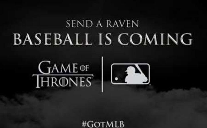 En 19 estadios de las Grandes Ligas se realizará la campaña publicitaria, realizando noches temáticas relacionadas a la famosa serie. (Foto tomada de Twitter/Game Of Thrones)