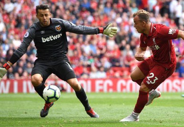 Liverpool propinó una goleada de 4-0 al West Ham. (Twitter)