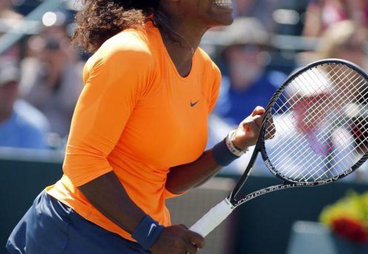 Serena es la tenista número uno del mundo seguida de Sharapova y Azarenka. (Agencias)