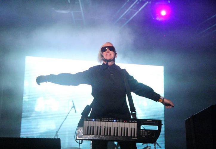 """El plato fuerte del Festival Electrokiss fue """"Trans X"""" que cerró con un gran espectáculo sobre el escenario. (José Acosta/SIPSE)"""