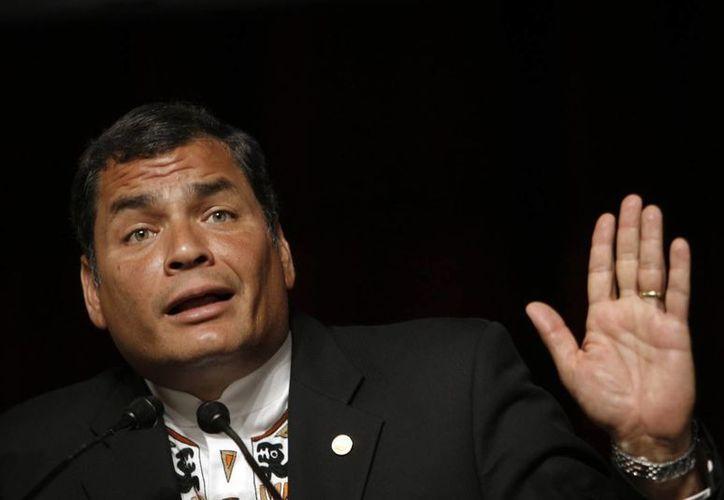 Correa recordó que hace algunos años tuvieron que comprar seis aviones de este tipo a Israel a un costo de unos 20 mdd. (Agencias)
