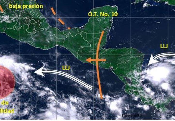 La probabilidad de lluvias es del 50 por ciento en Chetumal. (Conagua)