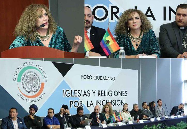"""Realizan el foro ciudadano: """"Iglesias y Religiones por la Inclusión"""". (Cortesía)"""