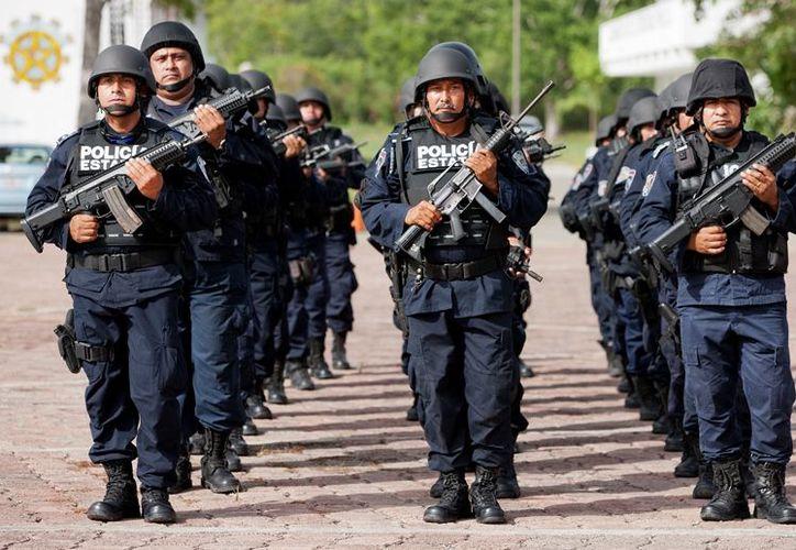 Los agentes policíacos que se logren recuperar serán incorporados de manera inmediata a las fuerzas de seguridad.