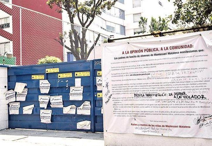 Imagen de la fachada del colegio Montessori Matatena, en el DF, donde, según la Procuraduría, tres menores sufrieron abusos. (Archivo/excelsior.com.mx)