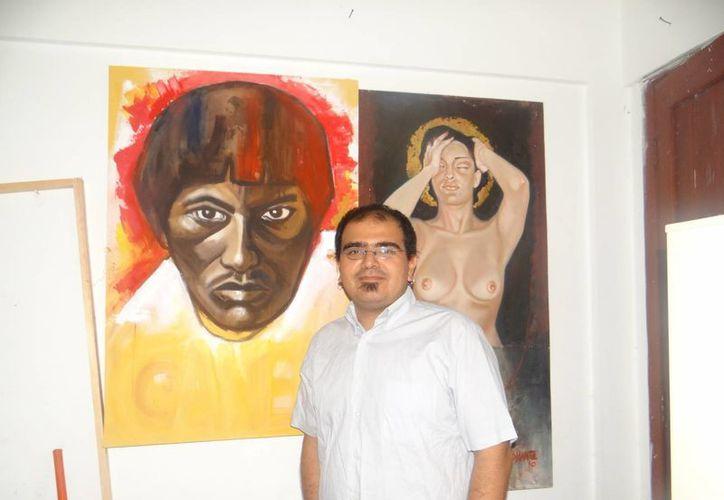 Esperan presentación de pinturas de artista isleño en varios municipios. (Lanrry Parra/SIPSE)