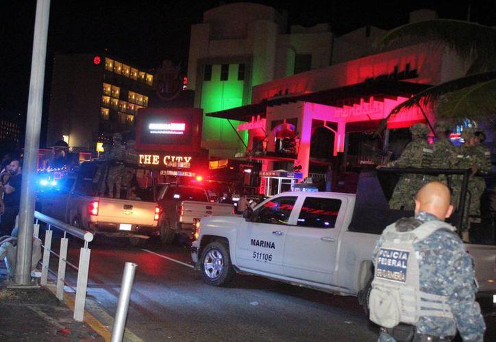 Los hechos se registraron la noche del pasado domingo en la zona hotelera. (Redacción)
