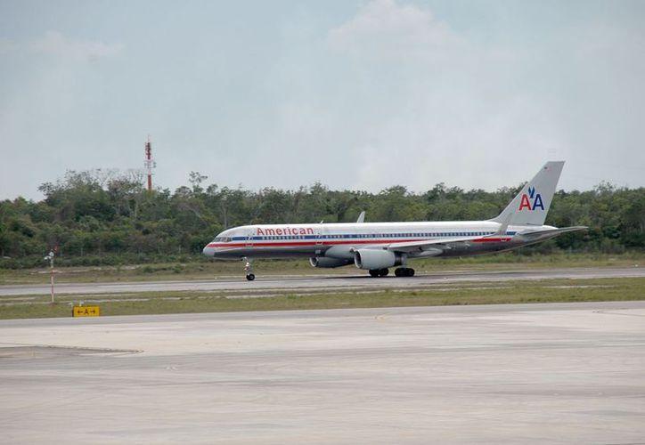 En cada una de las operaciones aéreas se contempla el arribo de 160 turistas. (Tomás Álvarez/SIPSE)