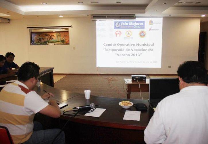 Realizaron la reunión del comité operativo municipal. (Lanrry Parra/SIPSE)