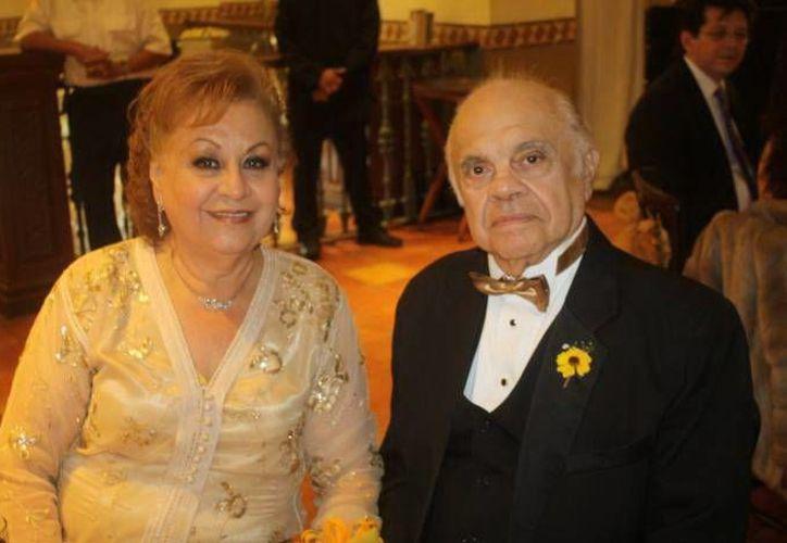 Este año Margarita Oramas y Jorge Dogre renovaron su matrimonio. (SIPSE)