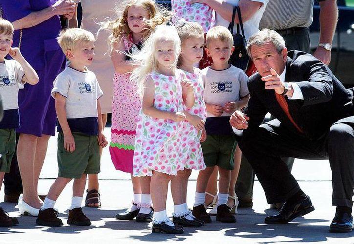 Los pequeños captaron la atención incluso del entonces presidente George W. Bush. (Agencias)