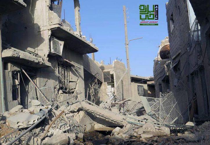 Un miembro de Jezbolá y varios combatientes murieron. (Agencias)