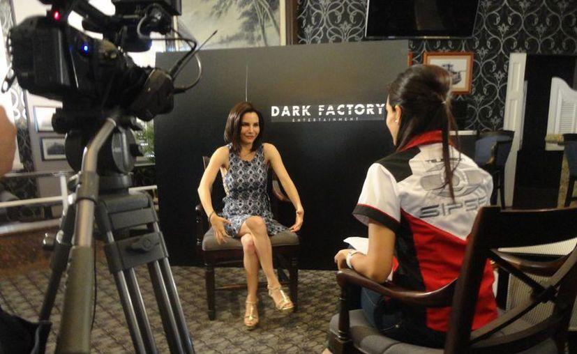 Martha Higareda afirmó sobre 'Deadtectives': 'Cumplí mi sueño de ir a mi tierra a grabar (Tabasco)' (Jorge Acosta/ Milenio Novedades)