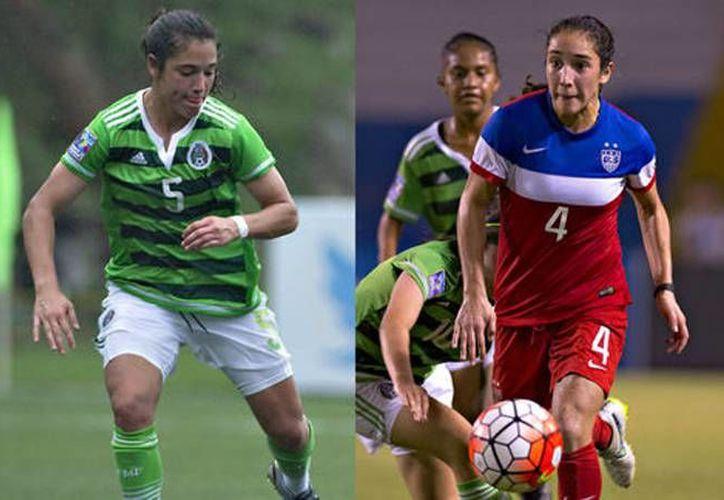 Mónica y Sabrina Flores nacieron en Livingstone, Nueva Jersey, sin embargo, sus caminos en el futbol parecen tomar distintas direcciones. (Archivo Mexsport)