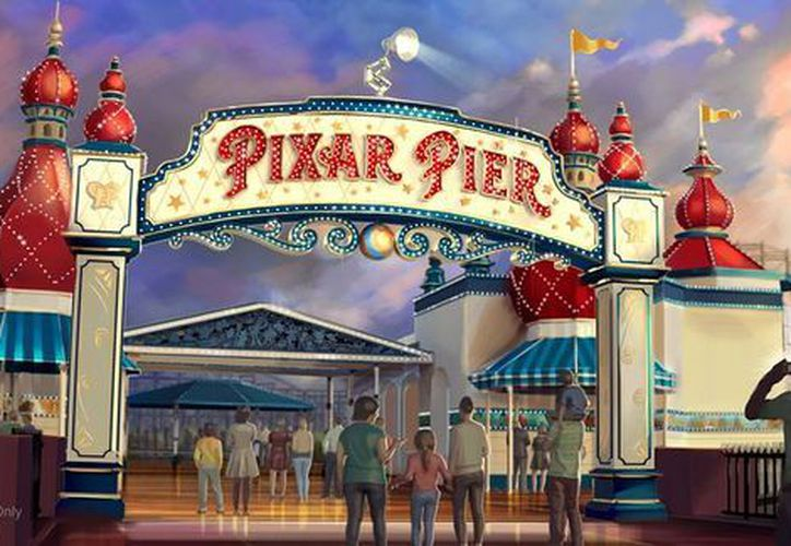 En el Pixar Pier, los visitantes explorarán cuatro vecindarios imaginativos y disfrutar de sus personajes favoritos. (Foto: Facebook)