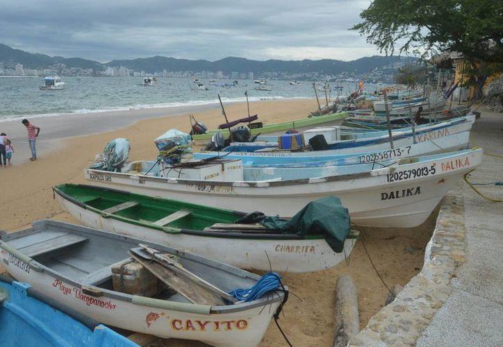 Se han alertado a las comunidades pesqueras y al sector turístico para que resguarden sus embarcaciones y suspendan actividades. (Notimex)