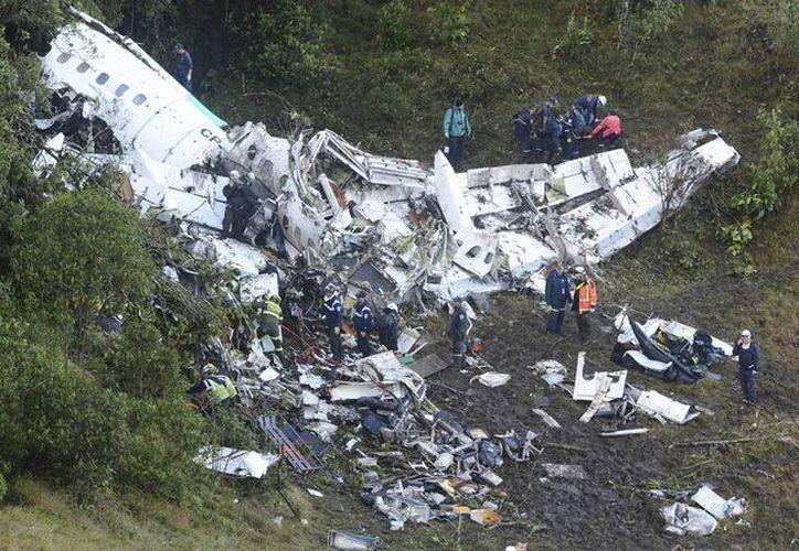 El futbolista Hélio Zampier Neto sobrevivió al accidente aéreo que dejó un saldo de 71 muertos, en Colombia. (Archivo/Agencias)