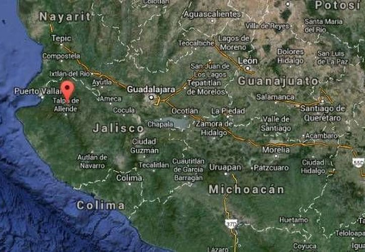 Daniel Villa, de 20 años, estaba con sus amigos cuando al lanzarse al agua en el río Mascota, en Puerto Vallarta, Jalisco, ya no emergió. (Google Maps)