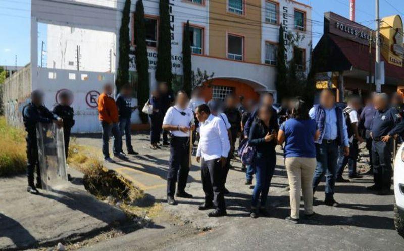 Despliega SSP operativo de vigilancia ante movilización de la CNTE