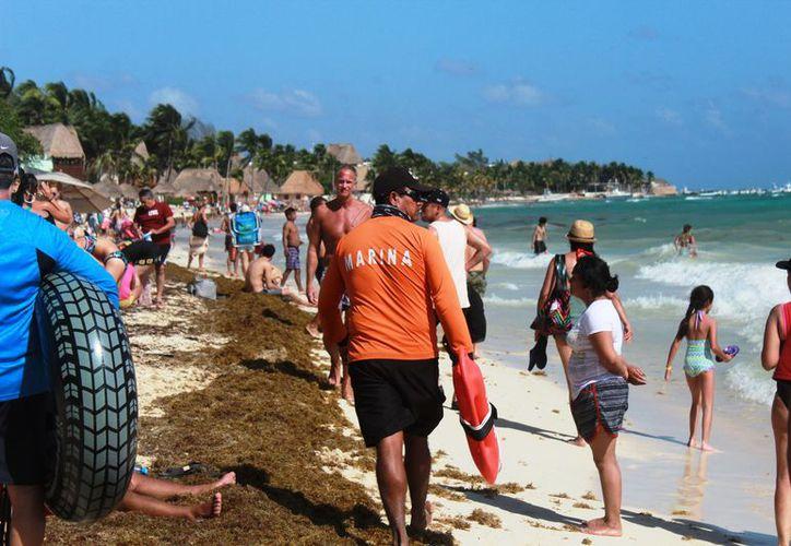 Aumentarán la vigilancia en las playas de mayor concurrencia. (Octavio Martínez/SIPSE)