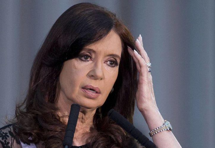 Cristina Fernández de Kirchner está en el centro de la polémica una vez más. (Archivo/Agencias)