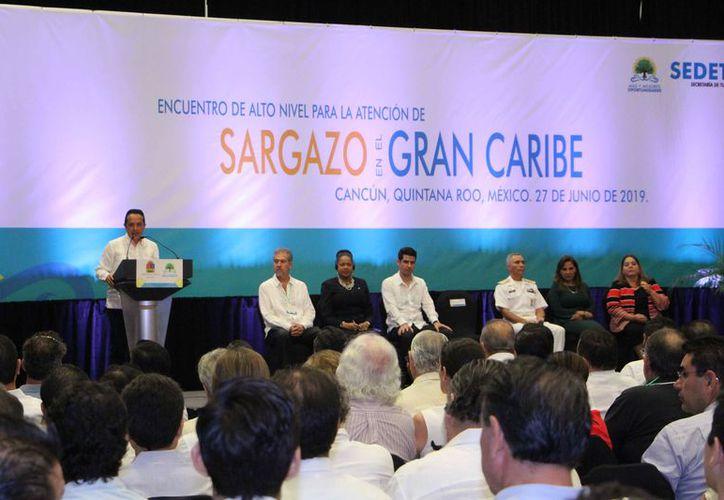 El Encuentro de Alto Nivel se llevó a cabo en Cancún. (Paola Chiomante/SIPSE)
