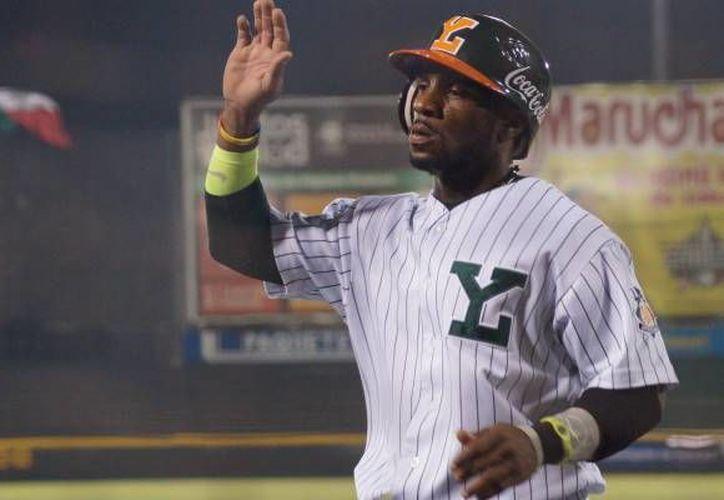 El beisbolista de Leones de Yucatán se encuentra recuperando tras sufrir una lesión en la Liga Mexicana del Pacífico.(Foto tomada de Leones.mx)
