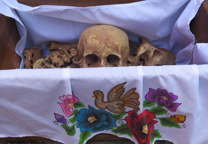 Pomuch es un poblado de campeche conocido por sus tradiciones relacionadas con los muertos.  (Imágenes de Javier Brandoli/ Notimex)