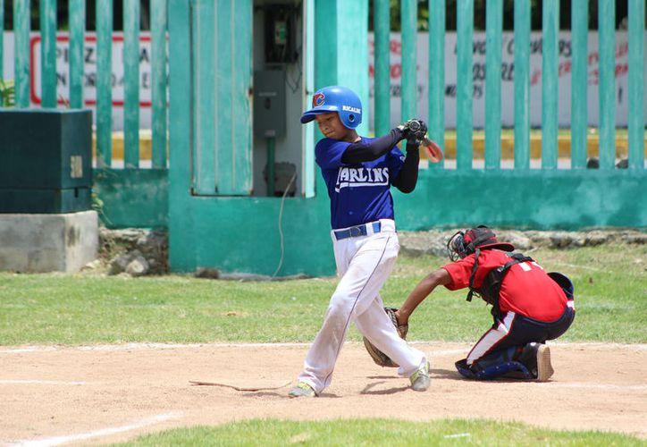 Tiburones, Laguneritos, en la categoría infantil y Titanes y Combinado de Baseball en la categoría Pre Junior ganaron su primer juego de temporada. (Miguel Maldonado/SIPSE)