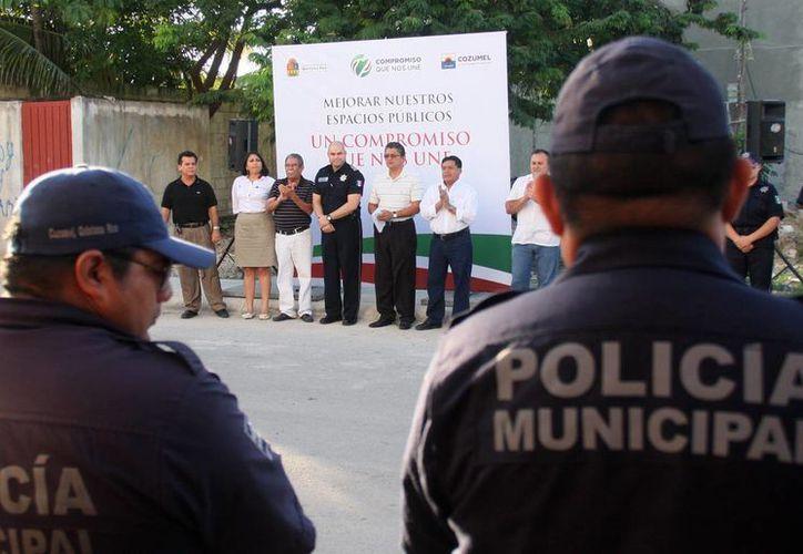 Reiteraron el compromiso de las autoridades de brindar mayor seguridad a la población. (Cortesía/SIPSE)