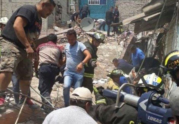 La explosión dejó al menos dos personas lesionadas. (Milenio)