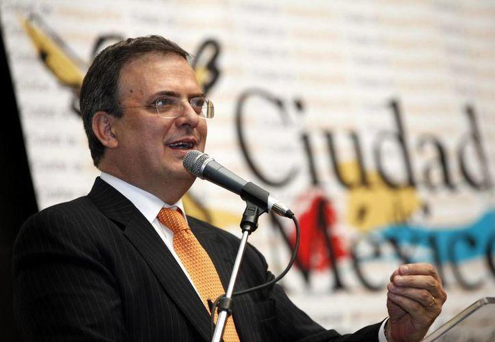 El exfuncionario propuso a Peña Nieto un debate sobre las modificaciones que implicarían la reforma a Pemex. (Archivo/Notimex)