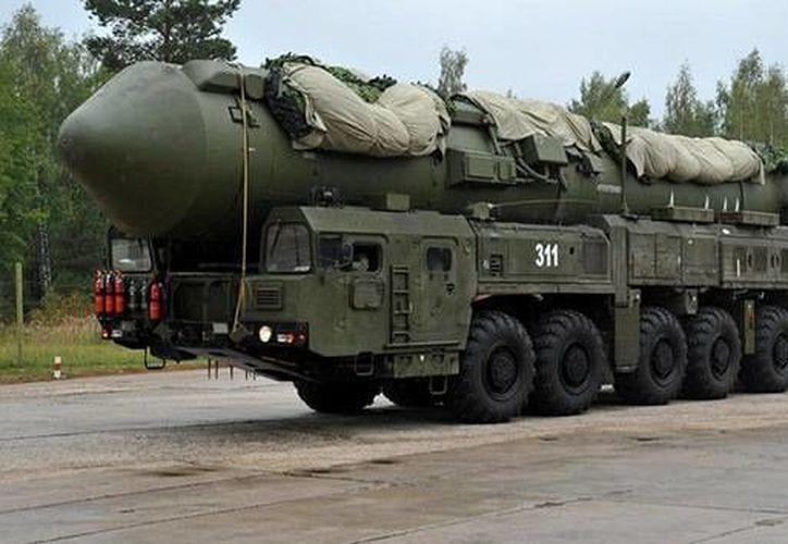 Rusia aseguró que no tiene intención de participar en una carrera armamentística. (AFP)