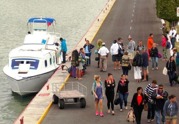 """La nueva y moderna Terminal Marítima de Chetumal """"Filiberto Sabido Padilla"""" fue inaugurada apenas el 30 de noviembre de 2015. (Redacción/SIPSE)"""
