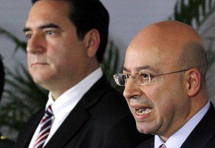 De acuerdo a Renato Sales, zar antisecuestros en México, lo que ha sucedido con los 43 normalistas desaparecidos obliga a replantear 'el esquema de seguridad nacional a partir del orden municipal'. (Notimex)