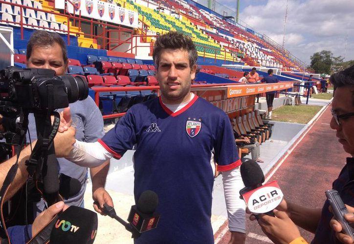 Guardameta dijo que ante Santos deben estar concentrados. (Redacción/SIPSE)