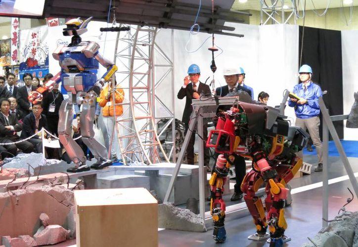 La Organización para el Desarrollo de Nuevas Energías y Técnicas Industriales creó los robots HRP-2 Kai y Jaxon totalmente diseñados para trabajar en zonas de desastre. (Kazuaki Nagata)