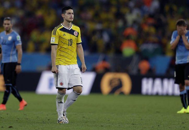 Con sus cinco goles, James Rodríguez coloca al Mónaco entre los cinco clubes más goleadores dentro del Mundial de Brasil. (Foto: AP)