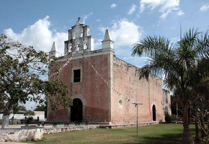 El templo de nuestra Señora de Belem forma parte de las iglesias históricas que se erigieron en Yucatán hace al menos cuatro siglos. (Jorge Acosta/Milenio Novedades)