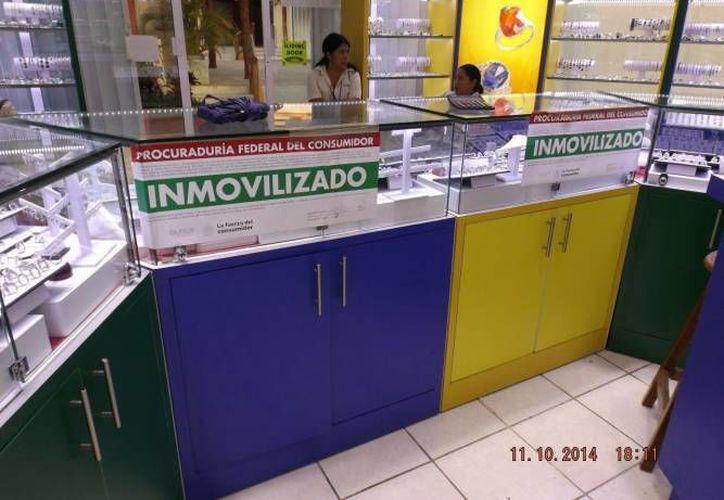 En casos como el de Cozumel, la Profeco inmovilizó la venta de joyería en establecimientos de la isla. (Foto de contexto/SIPSE)