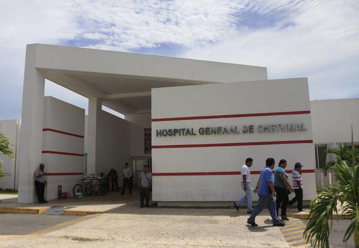 La sala de emergencias es una de las más visitadas durante los periodos vacacionales. (Harold Alcocer/SIPSE)