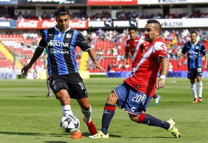 Querétaro consiguió una victoria de 2-0 con goles de los argentinos Emmanuel Villa (70) y Neri Cardozo (81). (Liga MX)