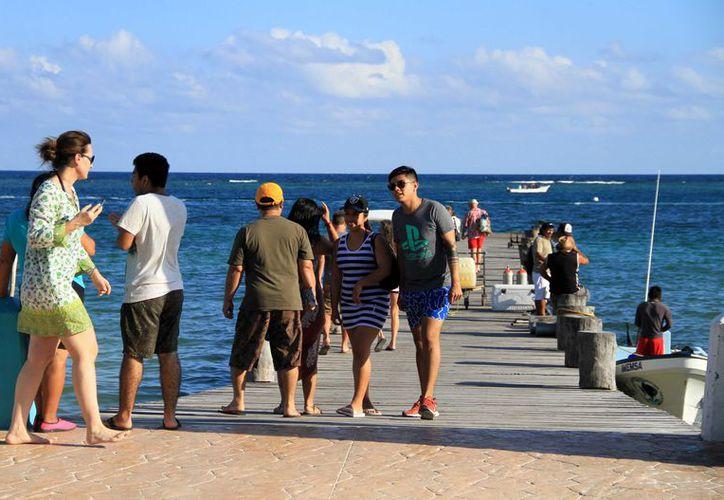 Puerto Morelos recibió un millón de visitantes durante 2018. (Cortesía)